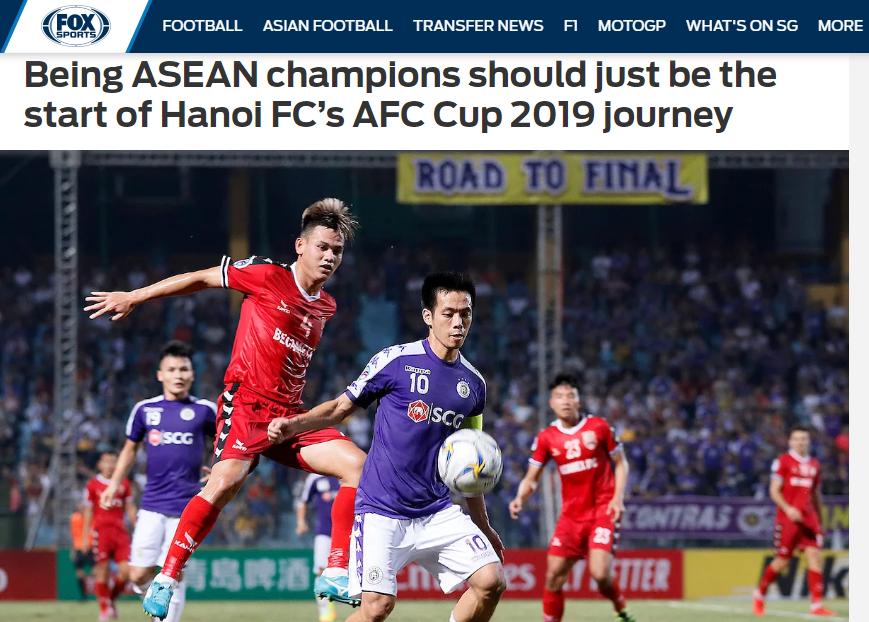 Báo châu Á: Hà Nội là vua ĐNA nhưng hành trình AFC Cup mới thật sự bắt đầu - Bóng Đá