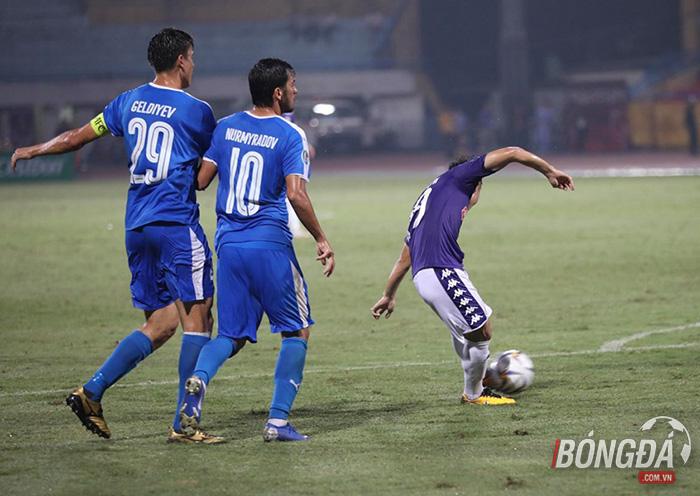 Sau trận Hà Nội vs Altyn Asyr - Bóng Đá