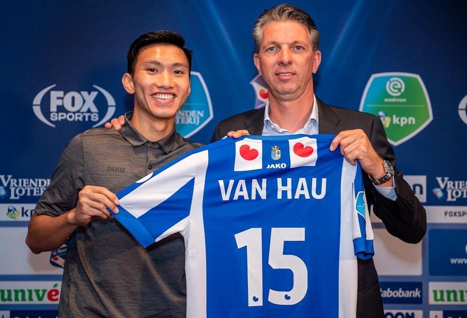 Đầu quân cho SC Heerenveen, Văn Hậu trở thành cầu thủ đắt giá thứ 3 Việt Nam - Bóng Đá