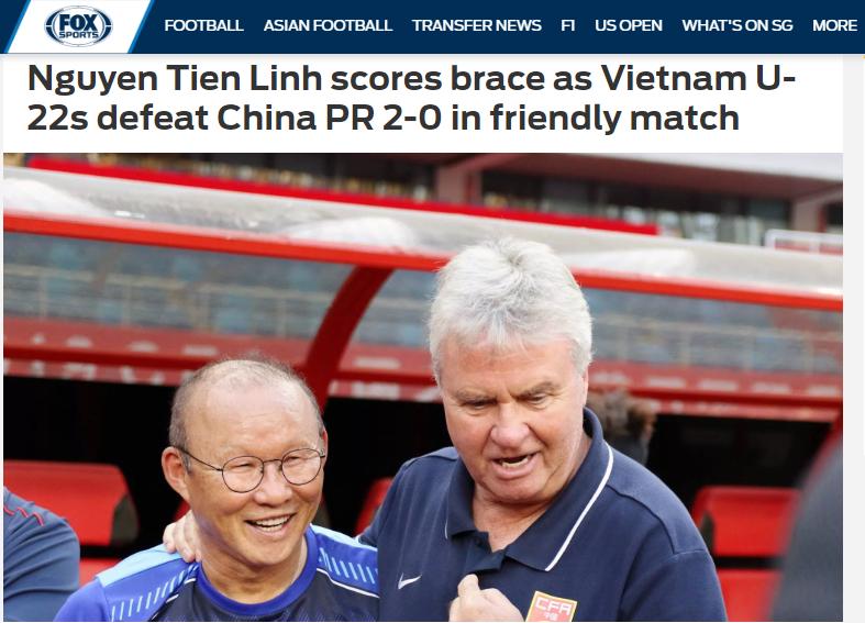 Báo châu Á chỉ ra cầu thủ xuất sắc nhất của U22 Việt Nam trận thắng Trung Quốc - Bóng Đá