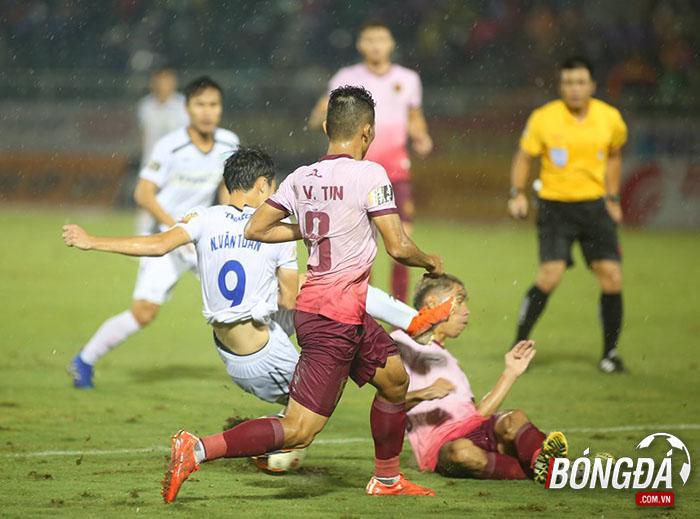 Ảnh sau trận Sài Gòn FC vs HAGL - Bóng Đá
