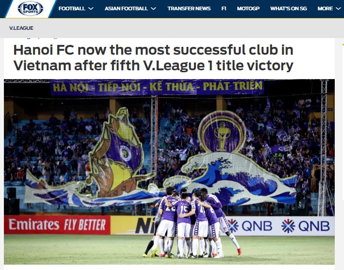Báo châu Á nói 1 điều về chức vô địch V-League sớm của CLB Hà Nội - Bóng Đá