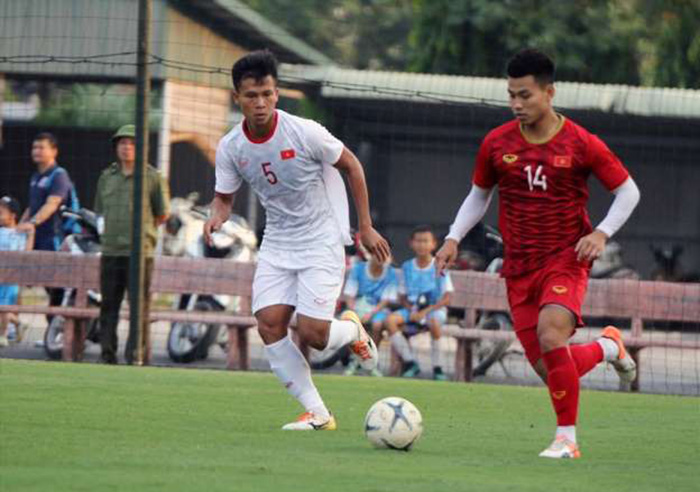 Tân binh ghi bàn, ĐT Việt Nam vẫn chưa thể thắng đàn em U22 - Bóng Đá