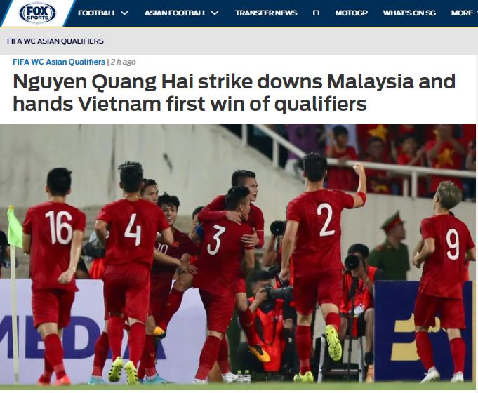 Báo châu Á chỉ ra cầu thủ xuất sắc nhất ĐT Việt Nam trận thắng Malaysia - Bóng Đá