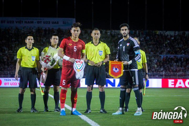 Ảnh sau trận U22 Việt Nam vs U22 UAE - Bóng Đá