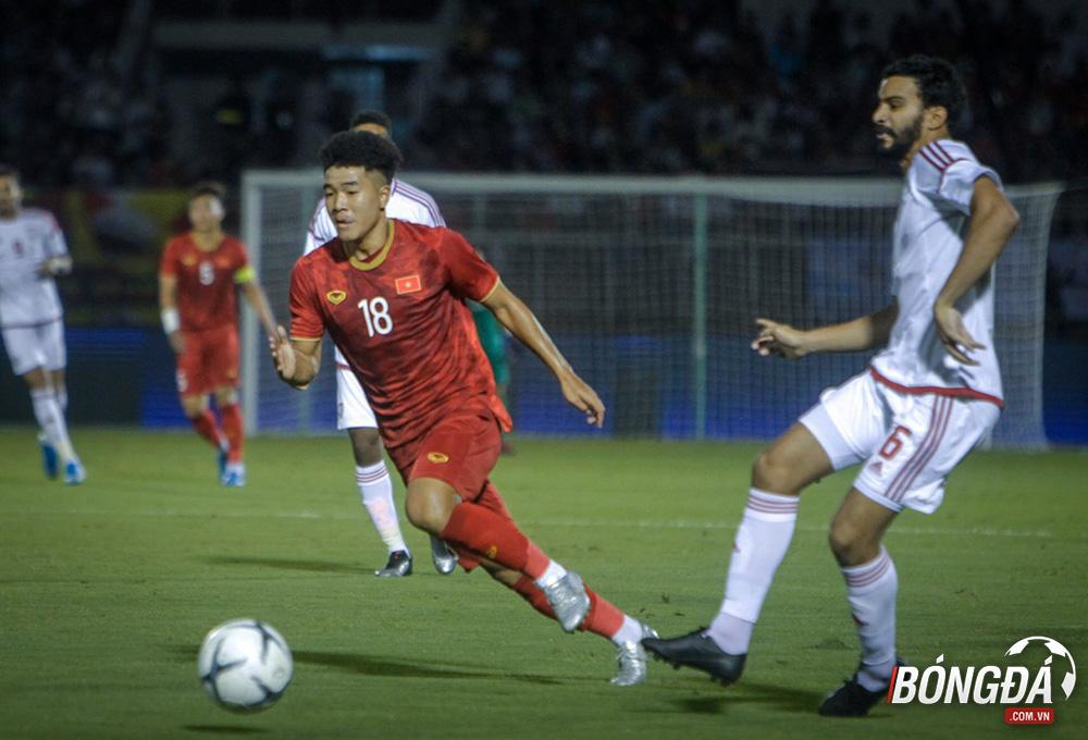 Đức Chinh nói 1 điều sau khi đánh đầu tung lưới UAE - Bóng Đá
