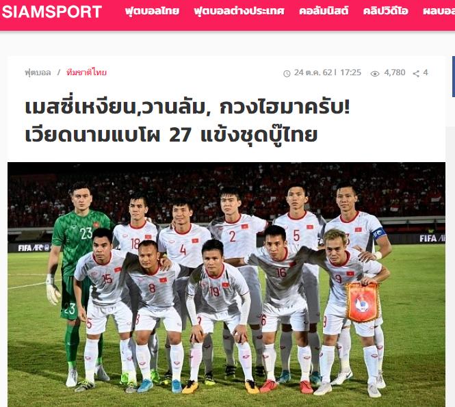 Báo Thái Lan chỉ ra 3 cầu thủ đáng gờm nhất trong danh sách ĐT Việt Nam - Bóng Đá