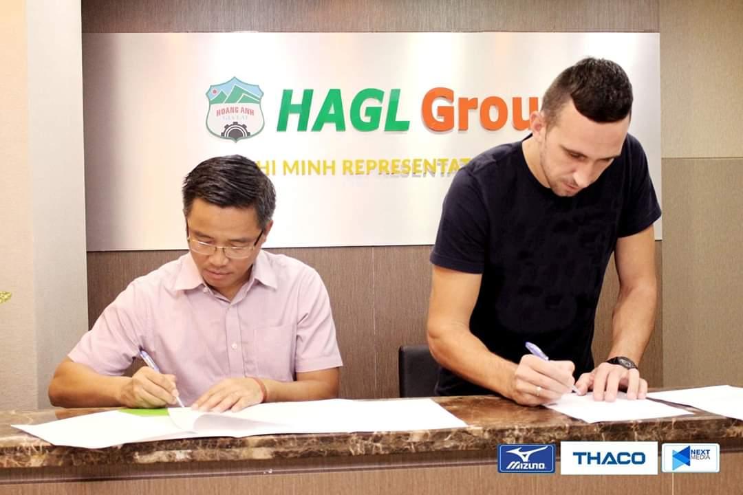 CHÍNH THỨC: HAGL tậu tân binh đầu tiên cho V-League 2020 (Damir) - Bóng Đá