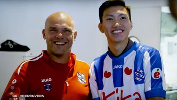 HLV Heerenveen: Văn Hậu sẽ có cơ hội ra sân vào ... - Bóng Đá