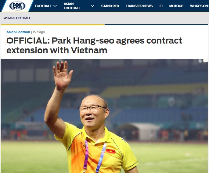 Báo châu Á: NHM Việt Nam nhận tin cực vui từ HLV Park Hang-seo - Bóng Đá