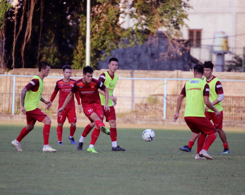 ĐT Việt Nam tiếp tục nhận trái đắng trước đàn em U22 ở trận đấu nội bộ - Bóng Đá