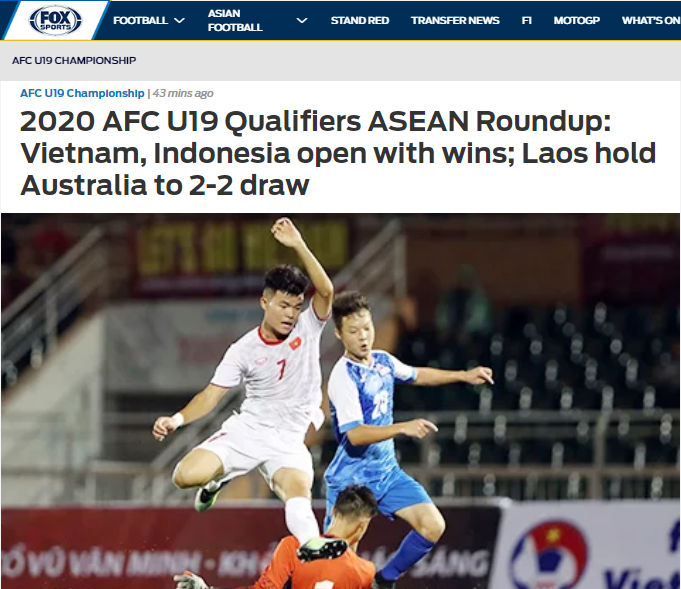 Báo châu Á khẳng định 1 điều về sức mạnh của U19 Việt Nam sau trận thắng Mông Cổ - Bóng Đá