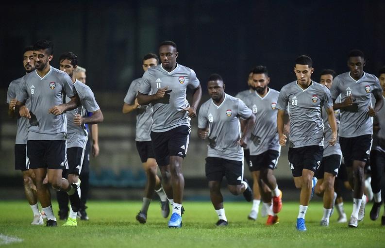 UAE tập nặng, quyết định