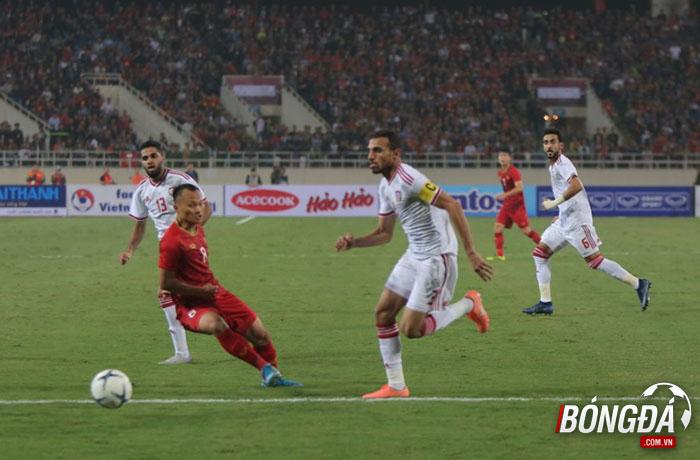 TRỰC TIẾP Việt Nam 0-0 UAE (Hiệp 1): Chủ nhà thiết lập thế trận an toàn - Bóng Đá