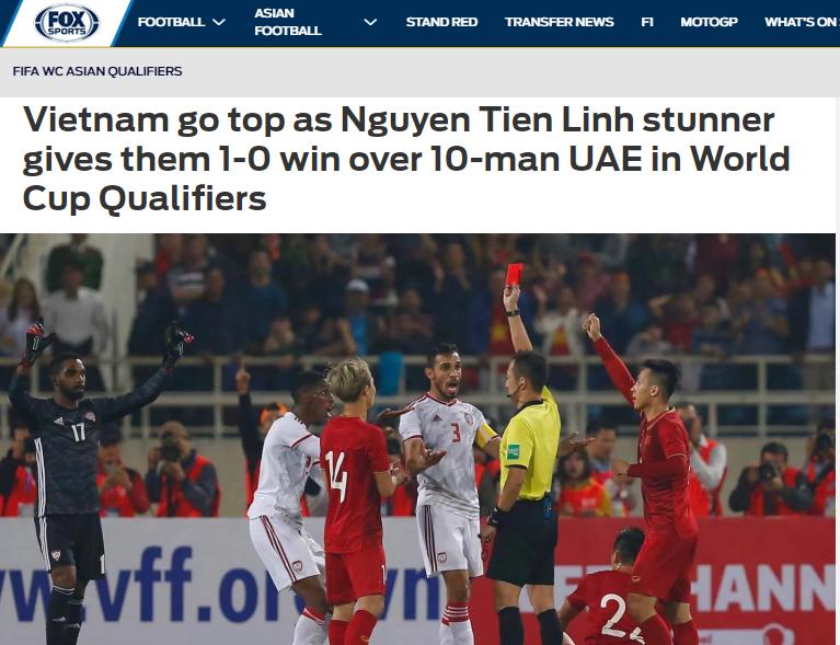 Báo châu Á chỉ ra cầu thủ xuất sắc nhất ĐT Việt Nam trận thắng UAE - Bóng Đá