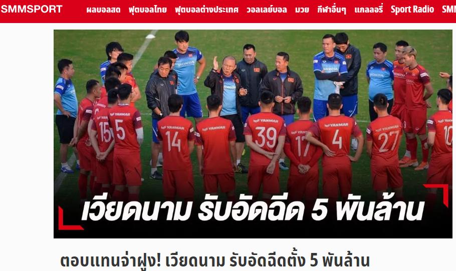 Truyền thông Thái Lan: Choáng! ĐT Việt Nam nhận liều doping cực mạnh trước trận gặp Voi chiến - Bóng Đá