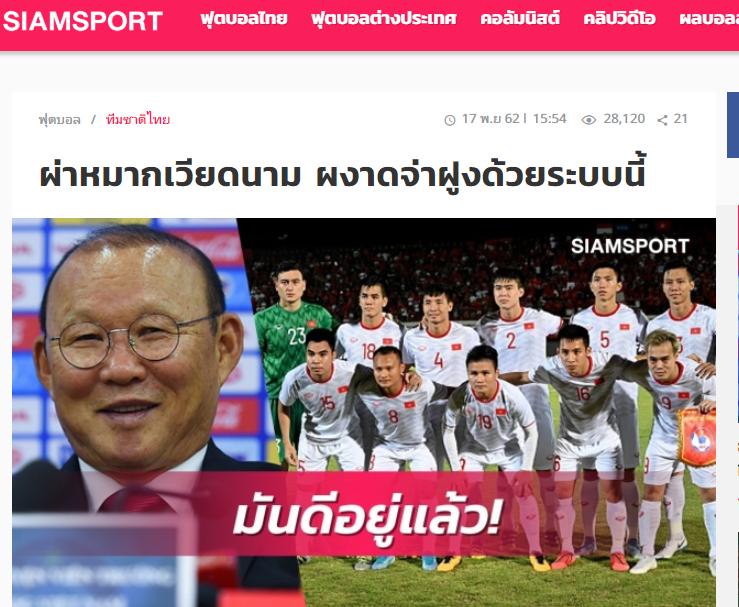 Báo Thái Lan: Đây, bộ khung ưng ý nhất của HLV Park Hang-seo ở ĐT Việt Nam  - Bóng Đá