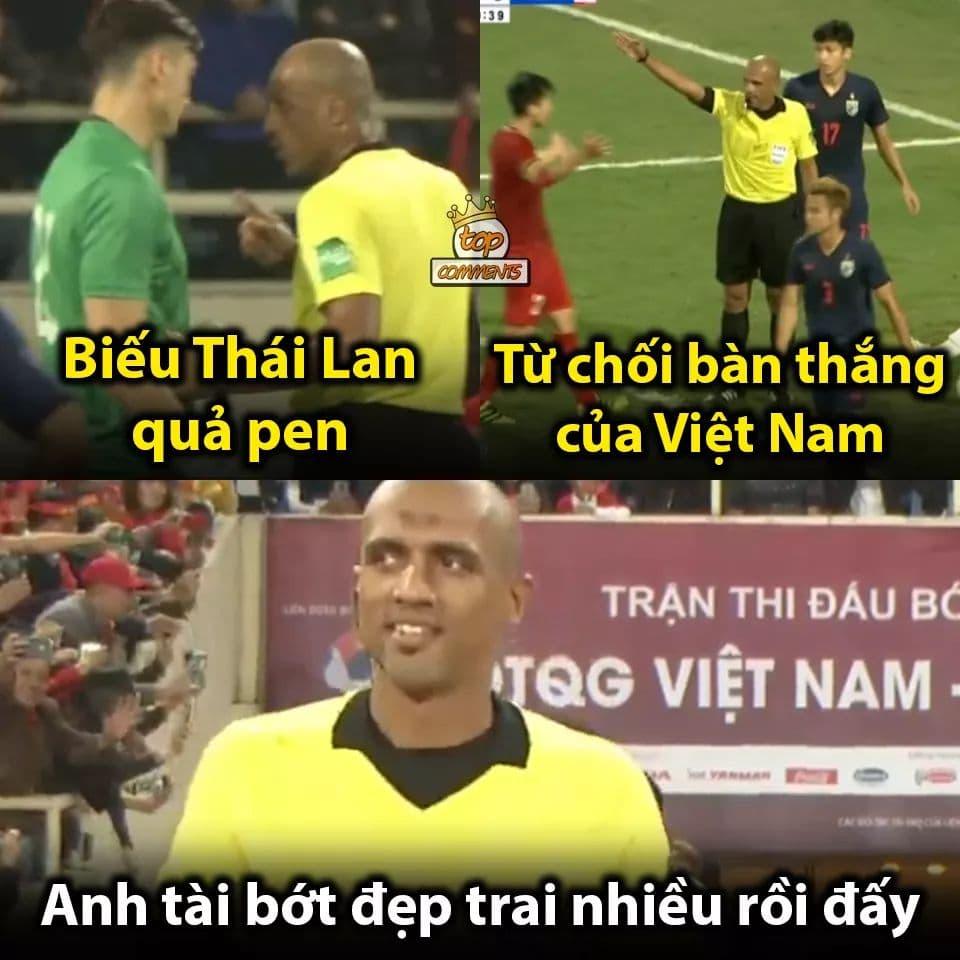 Cười vỡ bụng với loạt ảnh chế trận ĐT Việt Nam hoà Thái Lan - Bóng Đá