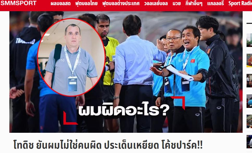 NÓNG: Trợ lý Thái Lan cầu xin tha thứ, chỉ ra nguyên nhân sự hiểu lầm - Bóng Đá