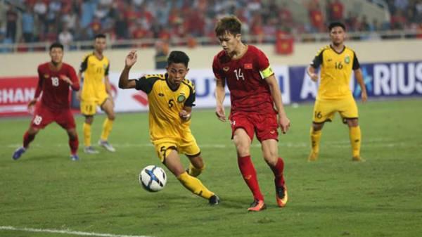 Đội hình ra sân U22 Việt Nam đấu Brunei: