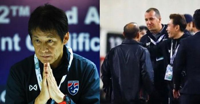HLV Nishino công khai xin lỗi thầy Park sau hành động khiêu khích của trợ lý - Bóng Đá