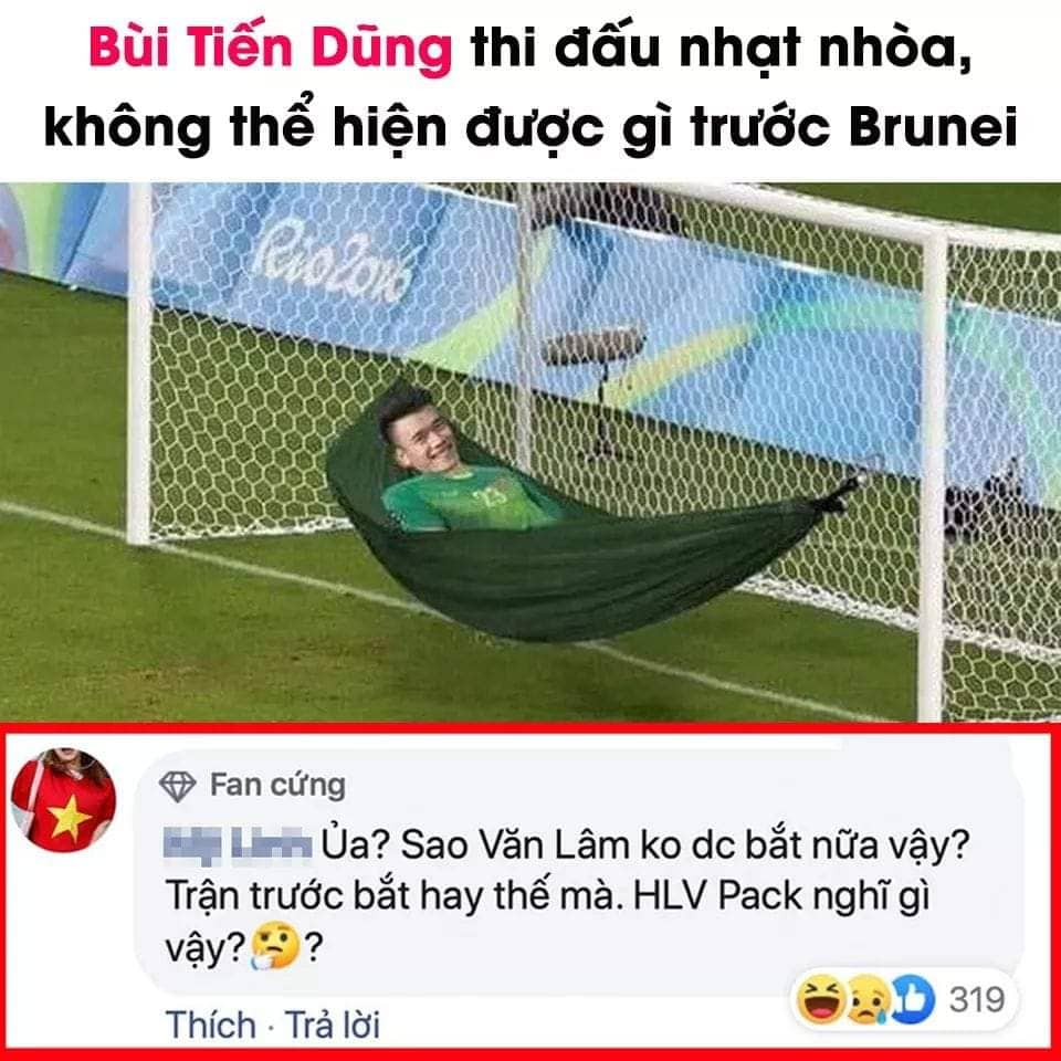 Ảnh chế U22 Việt Nam vs U22 Brunei - Bóng Đá