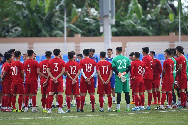 U22 Việt Nam đá với đội hình