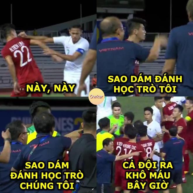 Ảnh chế U22 Việt Nam vs Indonesia - Bóng Đá