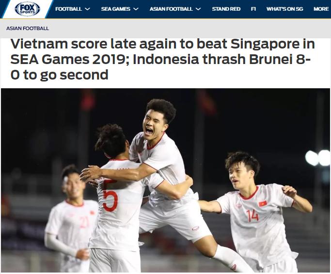 Báo châu Á nói về trận U22 Việt Nam vs Singapore - Bóng Đá