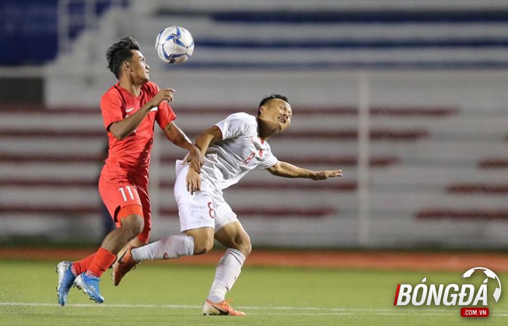 TRỰC TIẾP U22 Việt Nam 0-0 U22 Singapore (Hiệp 2): Văn Hậu đánh đầu vọt xà - Bóng Đá