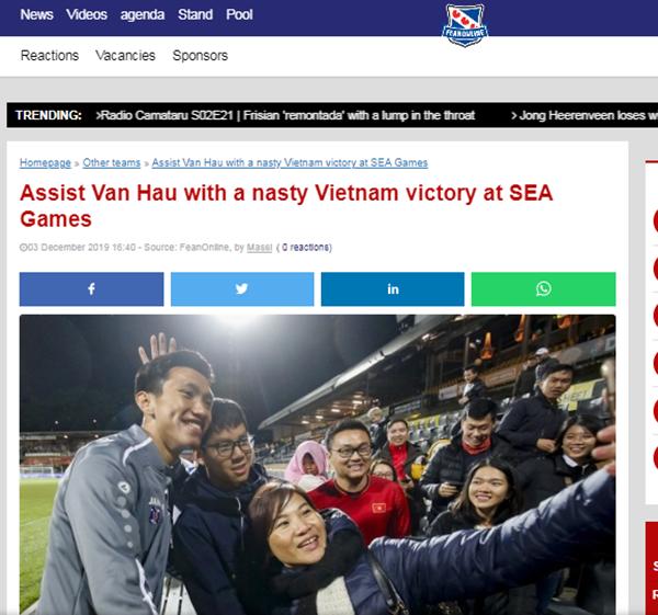 Không phải Đức Chinh, báo Hà Lan tán dương 1 cái tên của U22 Việt Nam trận Singapore - Bóng Đá