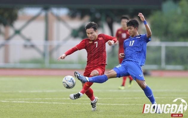 TRỰC TIẾP U22 Việt Nam 1-2 U22 Thái Lan (Hiệp 1): Hai đội thi đấu ăn miếng trả miến - Bóng Đá