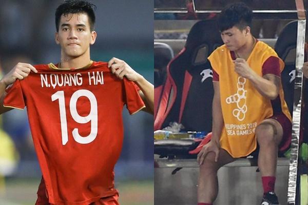 Tiến Linh có hành động đặc biệt với Quang Hải sau bàn thắng gỡ hoà 2-2 - Bóng Đá