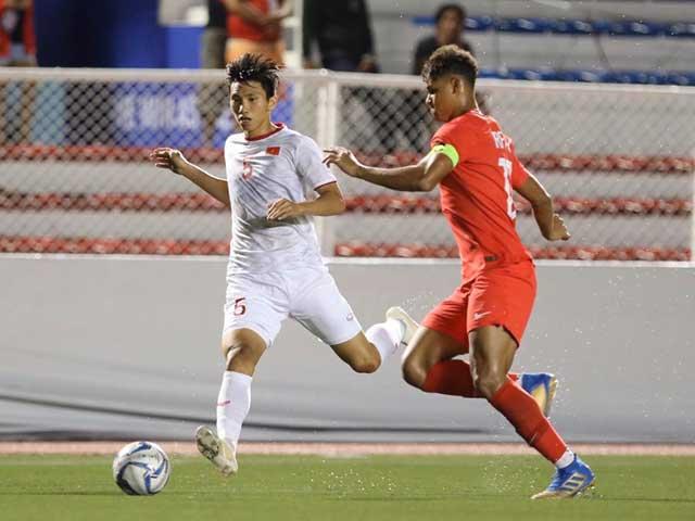 Đội hình ra sân U22 Việt Nam đấu Thái Lan: