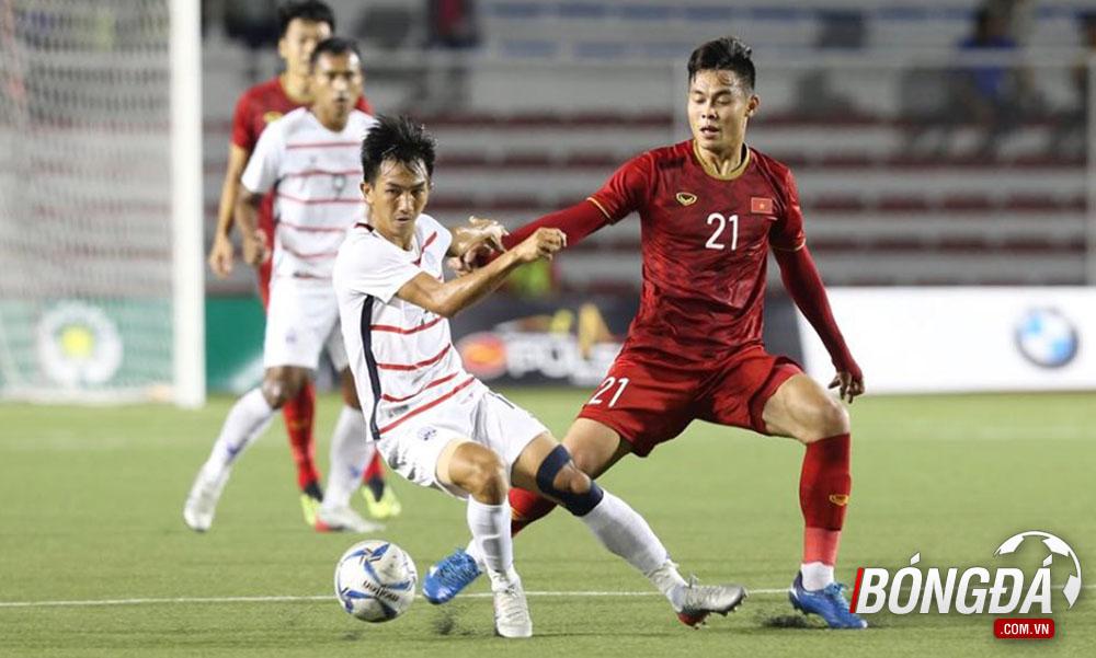 TRỰC TIẾP U22 Việt Nam 3-0 U22 Campuchia (Hiệp 2): Campuchia dâng cao đội hình - Bóng Đá