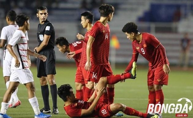 Ảnh sau trận Việt Nam vs Campuchia - Bóng Đá