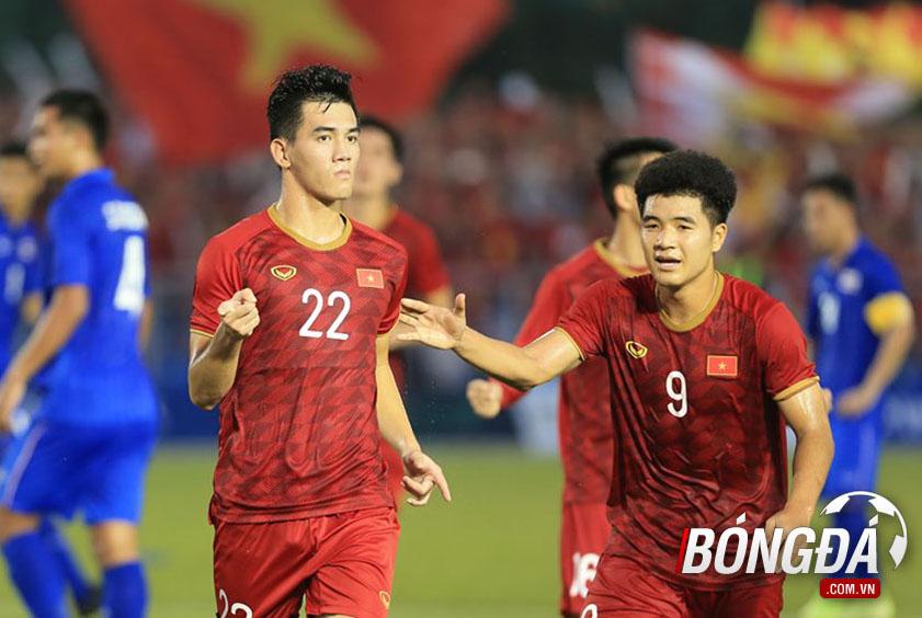U22 Việt Nam chuyển sang đá 2 tiền đạo: