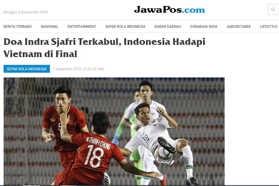 Truyền thông Indonesia: Phải hết sức cẩn trọng, U22 Việt Nam đang rất mạnh - Bóng Đá