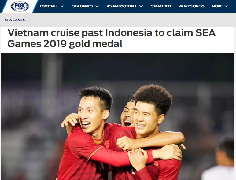 Báo châu Á chỉ ra cầu thủ xuất sắc nhất U22 Việt Nam trận thắng Indonesia - Bóng Đá