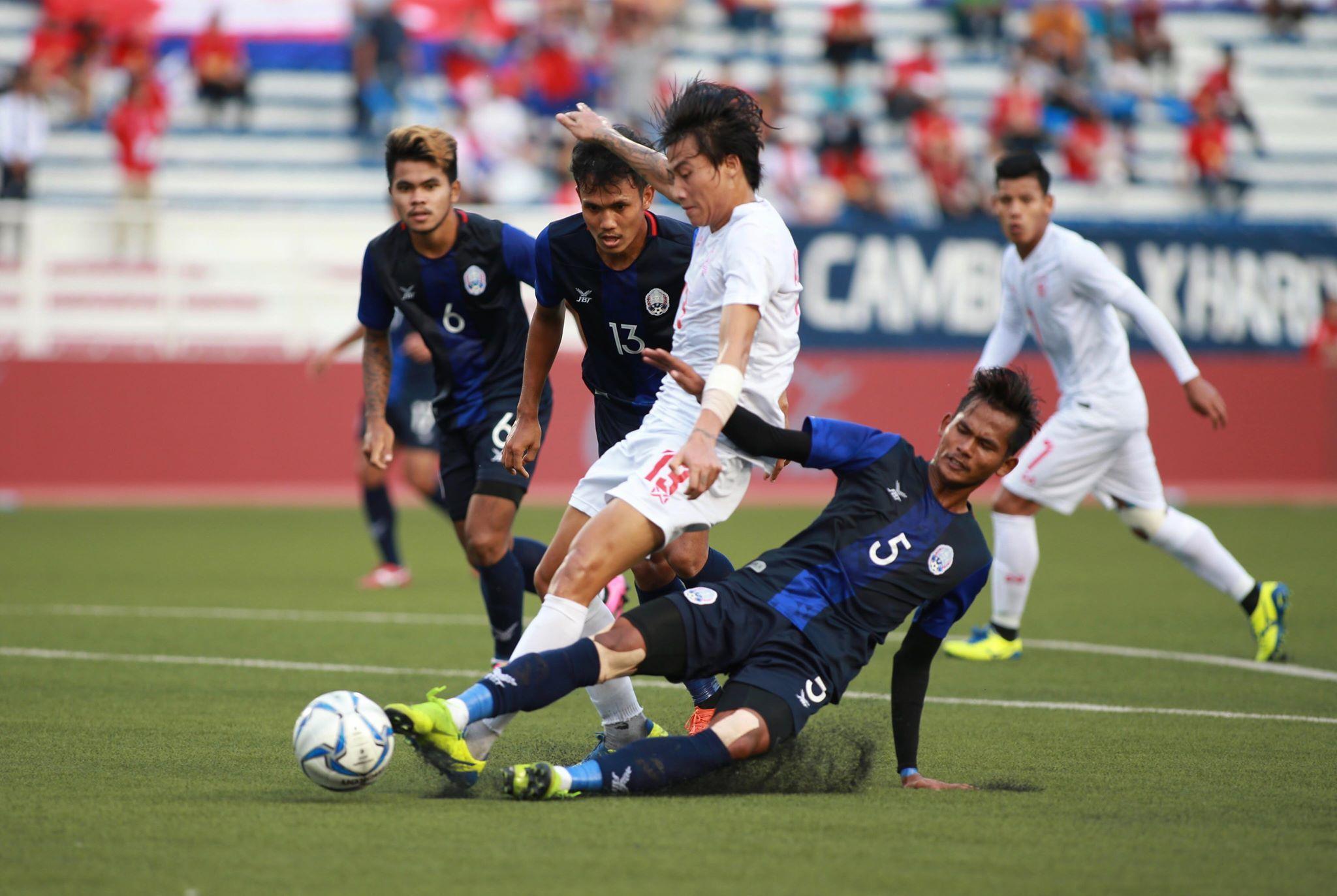 Hạ gục Campuchia sau loạt đấu súng, Myanmar đoạt tấm HCĐ SEA Games 30 - Bóng Đá