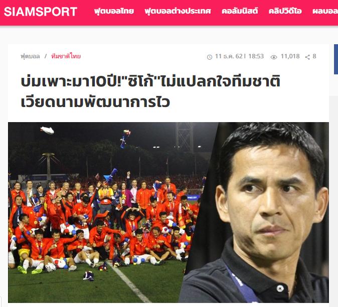 HLV Kiatisak nói lời phũ phàng về bóng đá Việt Nam sau chiếc HCV SEA Games - Bóng Đá