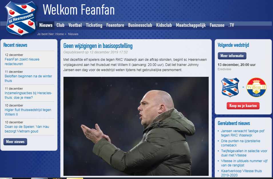 HLV Heerrenveen tiết lộ đội hình ra sân, báo tin kém vui cho Đoàn Văn Hậu - Bóng Đá