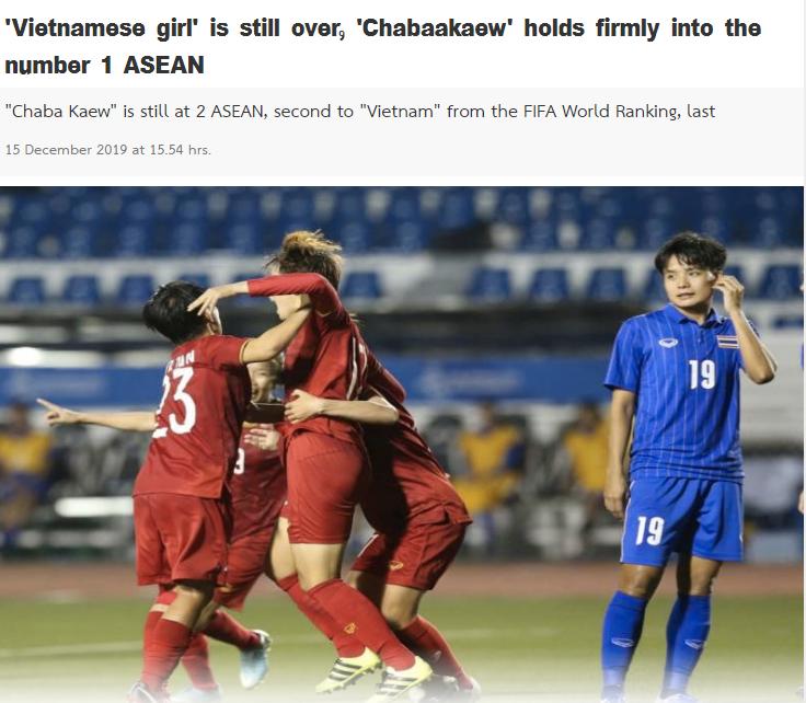 Báo Thái Lan: Thăng tiến trên BXH FIFA nhưng chúng ta vẫn xếp dưới ĐT Việt Nam - Bóng Đá