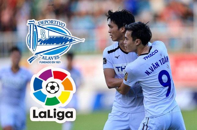 Đại diện La Liga lên tiếng về thông tin Alaves mời Tuấn Anh, Văn Toàn sang thử việc - Bóng Đá