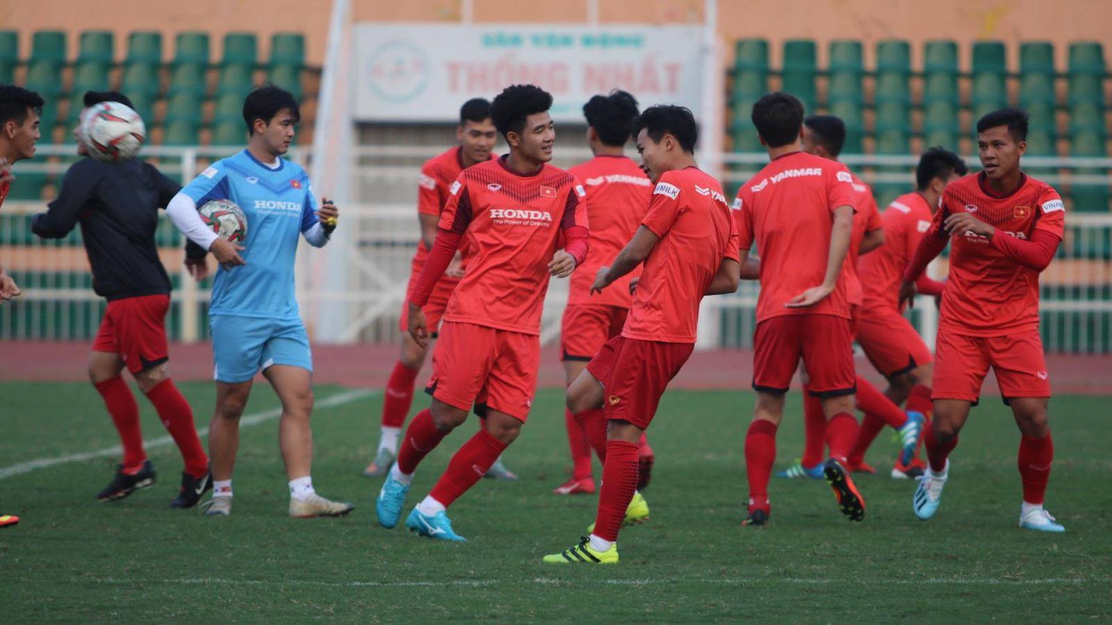 U23 Việt Nam vs B.Bình Dương - Bóng Đá