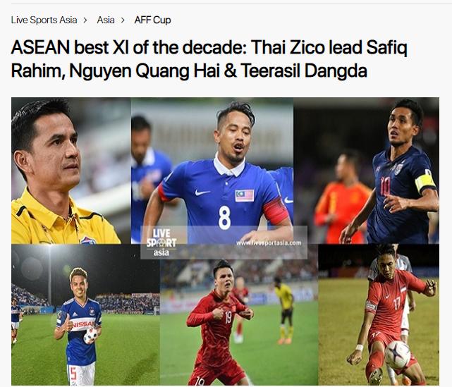 Đội hình thập kỷ ĐNA: Có 3 cái tên ĐT Việt Nam, bất ngờ vị trí thủ môn - Bóng Đá