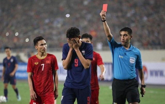 U23 Thái Lan đã xoá chiếc thẻ đỏ của