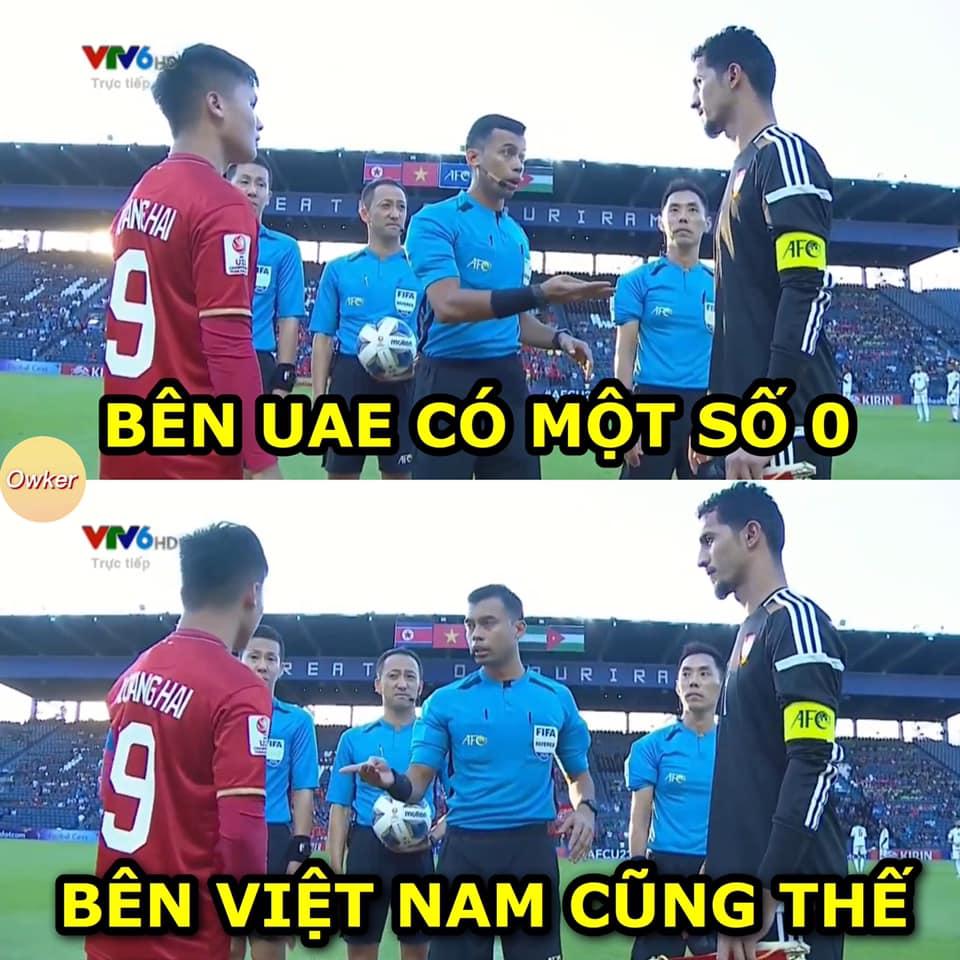 Ảnh chế sau trận Việt Nam vs UAE - Bóng Đá