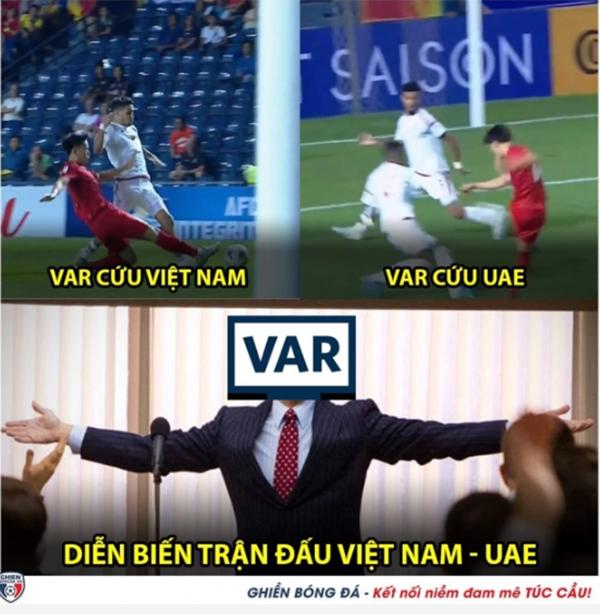 Cười vỡ bụng với loạt ảnh chế sau trận hoà của U23 Việt Nam với UAE - Bóng Đá