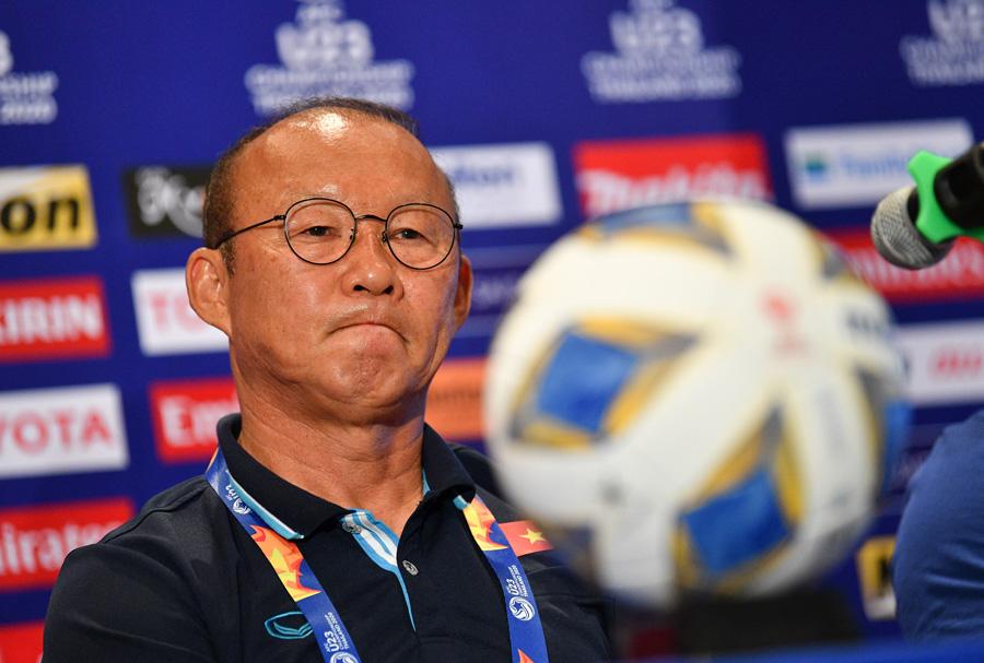 HLV Park Hang-seo chỉ ra vấn đề của U23 Việt Nam sau trận hoà Jordan - Bóng Đá